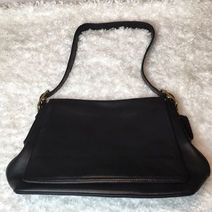 Vintage Black Coach Handbag